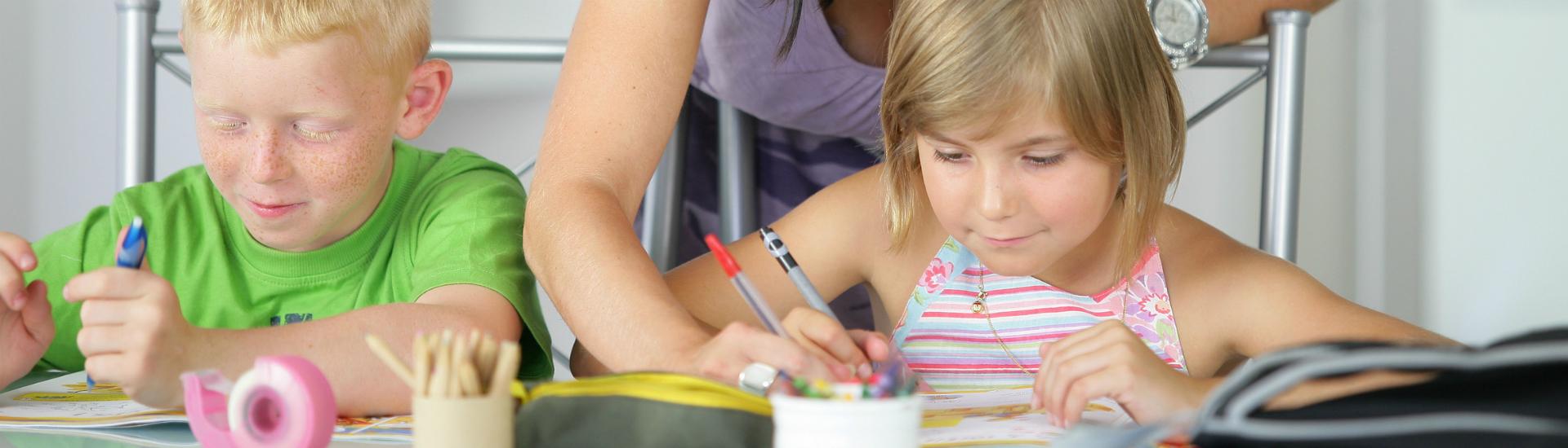 Aide aux devoirs - soutien scolaire